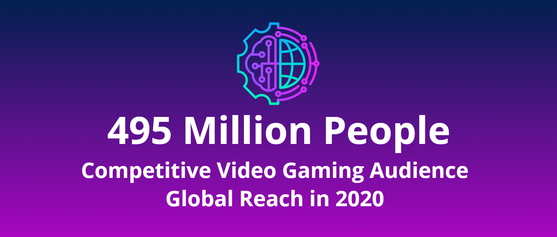 495 Million People: Competitive Video Gaming Audience in 2020